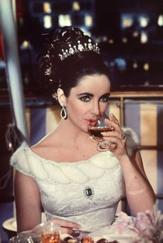 Elizabeth Taylor: when I think of her, it is all about glamour and numerous husbands. I love her taste in jewelries and her generous heart. She died of congestive heart failure especially after having suffered many years of ill health. February 27, 1932 -