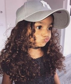Look at that face and hair! Curly hair don't care! This is how my daughter will probably look