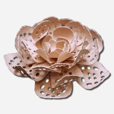 3D Flowers and Doily Flower Cards