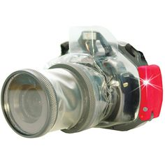 SHAPE Waterproof Compact Wave Case for Canon T5i, Nikon D5100, Sony A-65, Select Other DSLRs