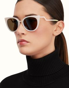 ORCHIDEA Cat-eye sunglasses. Ref: FOG251V1WF0320