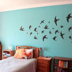 Steps and resources to create this wall decor [with free printable silhouettes]