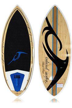 Inland Surfer 4-Skim Black Pearl Wakesurf Board 2013 #wakesurf #wakesurfing #wake #inland surfer