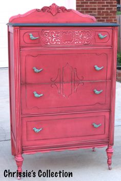 Coral chest by Chrissie's Collection.