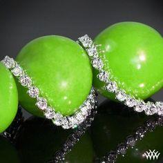 Seductive diamonds, three prong diamond tennis bracelet