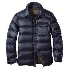 EB900フィルパワープラストレイルダウンシャツジャケット | エディー・バウアー オンラインストア