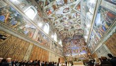 la chapelle sixtine, Rome Italie