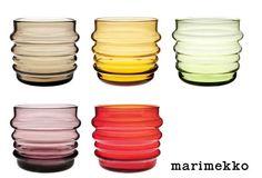 marimekko socks rolled down tumbler Marimekko, Pantry Cupboard, Pottery Designs, Red Glass, Kitchen Colors, Scandinavian Design, Finland, Interior Architecture, Tumbler
