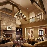 I want an open floor plan like this!