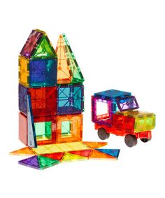 Another great find on #zulily! 50-Piece PlayMags Magnetic Building Block Set… (noelle)