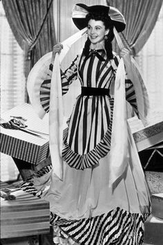 Scarlett O'Hara (Vivien Leigh) in Gone with the Wind.