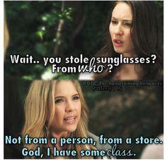 Hanna has some class hahaha