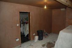 Plastering the family room, how to reclaim a space