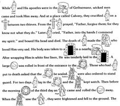 The First Easter...  A story your children can read