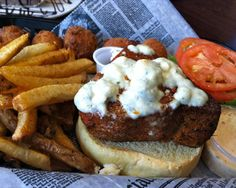 Sandwich of the Week: Black n' Bleu Tuna at Mr. Fish in Myrtle Beach, South Carolina