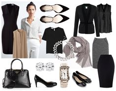 A Capsule Wardrobe – Minimalist Corporate Style | That Career Girl
