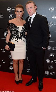 Thoughtful parents: Coleen and Wayne Rooney like to talk things through with their boys