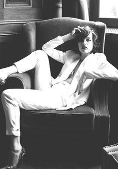 """"""" Milla Jovovich by Eric Guillemain for S MODA October 2011 """""""