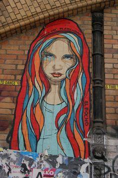 Berlin Street Art - Colors of Life