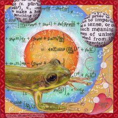 Photorealistic Frog Drawing by Thaneeya