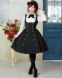 Corset Double Breasted Jumperskirt