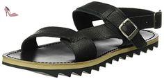 Gioseppo  Flavios, sandales homme - noir - Noir (Black), 42 EU EU - Chaussures gioseppo (*Partner-Link)