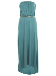 Cute maxi dress with a skinny belt <3 for $65.00
