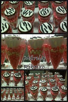 Cupcakes na taça