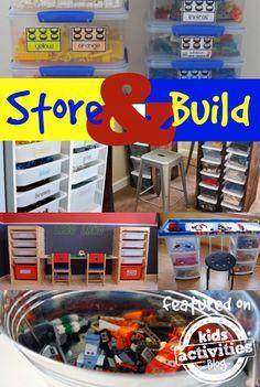 37 Genius LEGO Organization Ideas - Kids Activities Blog