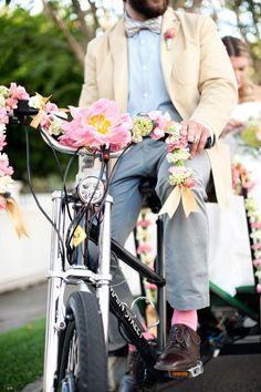 Pedicab - Pensacola Wedding Inspiration from Melissa Wilson Photography