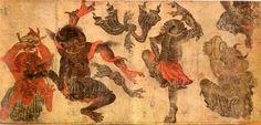Mehmet Siyah Kalem-Şeytanların Dansı