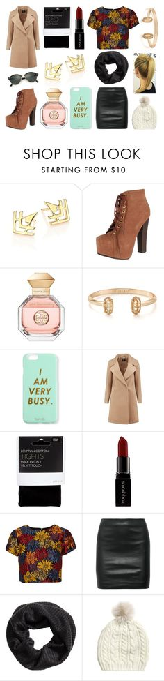 """""""Dinner with his parents"""" by hailey-smith-13 ❤ liked on Polyvore featuring TomTom, Breckelle's, Tory Burch, Kendra Scott, Bando, Boohoo, John Lewis, Smashbox, Alice + Olivia and The Row"""