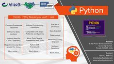 IBM Certified python training Course in Mohali with Live Projects by Industry experts. Free Industrial Training, Virtual training, Stipend based training all are available. Meet the expert today. Online Training Courses, Helping Hands, Cloud Computing, Open Source, Ibm, Machine Learning, Python, Programming, Engineering