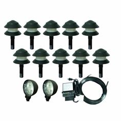 Light up Your Night Life With Low Voltage Outdoor Lighting Kits