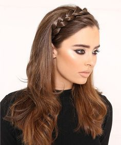 Super Cute Braided Headband Hairstyles 2017 – 2018 for Women