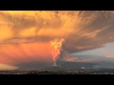 A few hours ago (22 Apr 2015) Volcano Calbuco in southern Chile erupted for the first time in nearly 40 years.