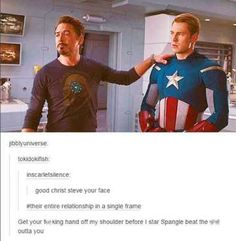 """With the long-awaited release of """"Avengers: Age of Ultron"""" later on today at midnight, we figured it'd be fitting to preface the occasion with some priceless fandom humor.That being said, here are some of the best Avengers posts on Tumblr throughout the mounting anticipation."""