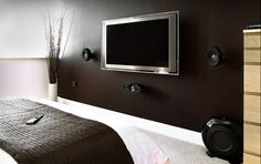 I want a TV in my bedroom!!
