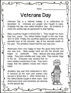 This is a great Veterans Day reading with vocabulary exercises and much more. This is a great Veterans Day reading with vocabulary exercises and much more. Veterans Day Coloring Page, School Worksheets, Vowel Worksheets, Veterans Day Activities, Vocabulary Exercises, Reading Help, Social Studies Activities, Remembrance Day, Creative Teaching