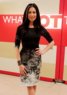 Stacy London (TLC's What Not to Wear)  I love this woman in so many ways. She's an inspiration to me from the inside out.