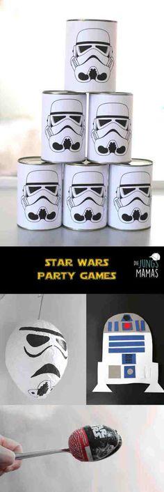 Star Wars Party-Spiele Kindergeburtstag // Star Wars Party Games kids birthday