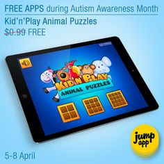 Kid'n'Play Animal Puzzles - #iPhone #iPad #kids #app - free for a few days https://itunes.apple.com/us/app/kidnplay-animal-puzzles/id522393650