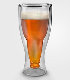 Now THAT'S a beer glass!