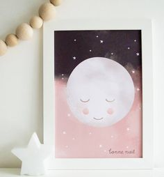 'Bonne Nuit' Goodnight Moon Limited Edition Print