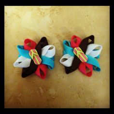 Small flip flop bows