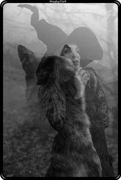 A bruxa era vida e o Lobo o destino. Ambos seguiam pro mesmo lugar. Da morte fugiam. Os dois dividiam o mesmo caminho. Eles não tinham medo, nem dor e nem desespero! Tentando fazer de tudo para ficar juntos A vida e o destino num mesmo amor. Val Francis The witch was life and the wolf the destiny. Both went to the same place. From death they fled. The two shared the same path. They had no fear, no pain, no despair! Trying to do everything to be together Life and destiny in one love. Val… Paths, First Love, Two By Two, Wolf, Witch, Lion Sculpture, Statue, Life, Death