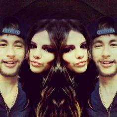 Neymar and Selena :)