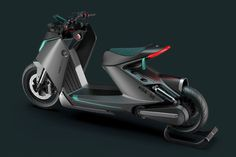 Electric Scooters designed with unique features, making them a must-have for all your travels! | Yanko Design