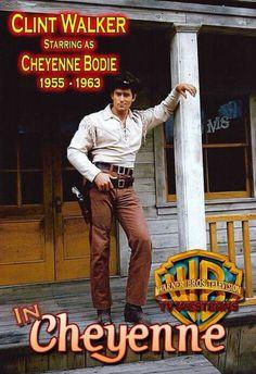 Clint Walker staring as Cheyenne Bodie Cheyenne - one hundred and eight episodes (Clint Walker was born Clint Walker, Classic Tv, Classic Movies, Tarzan, Cheyenne Bodie, Cheyenne Tv Show, Samba, Cowboy Films, Native American Actors