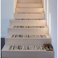 Stair Treads Shop Online At Overstock In 2020 Stair Treads Bullnose Carpet Stair Treads Stairs